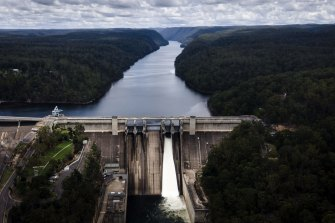 A plan to raise the wall of Warragamba Dam is now estimated to cost $1.6 billion.