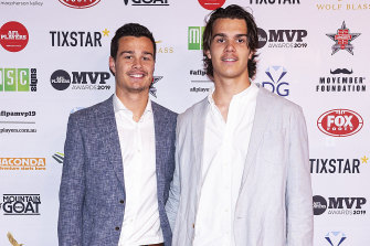 Jack and Ben Silvagni disciplined by Blues for drinking while hurt