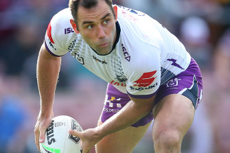 Melbourne skipper Cameron Smith wants the NRL season suspended.
