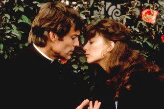 Richard Chamberlain and Rachel Ward in The Thorn Birds.
