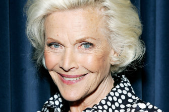 Actor Honor Blackman, pictured in 2008,  has died aged 94.