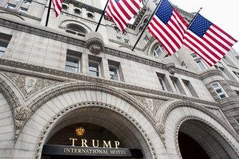The Trump International Hotel in Washington was financed by Deutsche Bank.