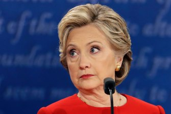 "In her final presidential debate n 2016, Hillary Clinton said Americans must ""not trust Donald Trump with the nuclear codes or to have his finger on the nuclear button."""