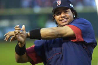 Boston's 2004 World Series MVP, Manny Ramirez, is coming to Sydney.