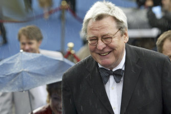 Alan Parker was knighted by Queen Elizabeth II in 2002.