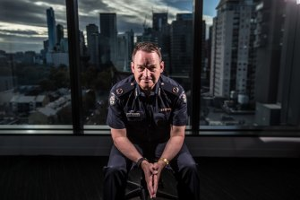 Assistant Commissioner Ross Guenther is head of Victoria's Counter Terrorism Command and president of a specialist international anti-terror group.
