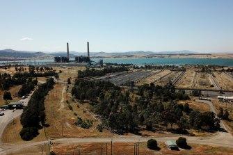 Liddell Power Station in the Hunter Valley.