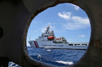 A new Chinese law empowers the country's coast guard to fire on vessels sailing through waters it claims.