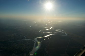 The junction of the Murray and Darling rivers, which have been depleted by years of over-extraction.