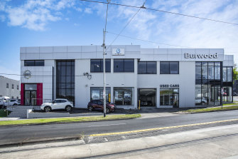 The home to Burwood Nissan at 101-109 Burwood Highway has sold for $10.9 million.