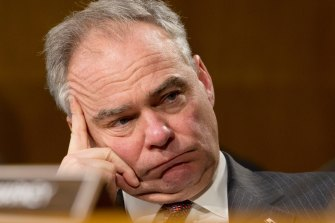 Democratic Senator Tim Kaine said President Joe Biden should have sought approval from Congress before launching the air strikes in Syria.