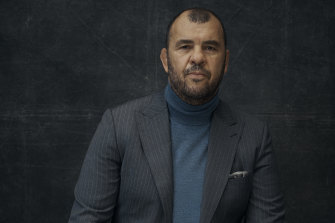 """Michael Cheika: """"Until the age of 40, my life was all about travelling for footy. It wasn't easy to have a long-term relationship."""""""