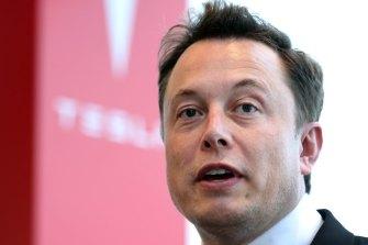 Elon Musk's Tesla invested $US1.5 billion in bitcoin last month.