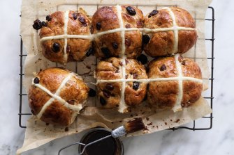 Hot cross buns were the only good thing about Easter.