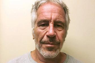 Convicted sex offender Jeffrey Epstein.
