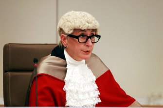 Justice Elizabeth Fullerton presided over the criminal trial of two former Labor ministers, Ian Macdonald and Eddie Obeid, and Obeid's son Moses.