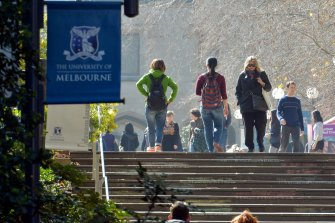 University of Melbourne staff have said 'no' to pay cuts.