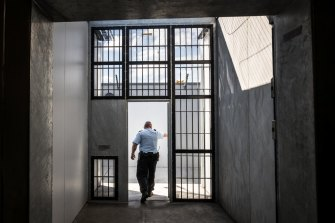 The Olearia Unit at Barwon Prison is the highest-security unit in Victoria.
