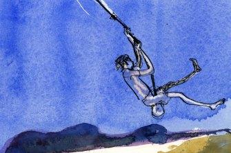 Illustration by Robin Cowcher.
