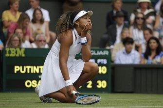 Osaka lost to Yulia Putintseva in the first round of Wimbledon last year.