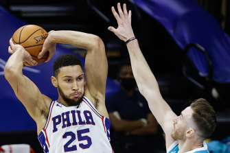 Ben Simmons has continued to help the 76ers' full-court press with Philadelphia out to a 7-1 start to the NBA regular season.