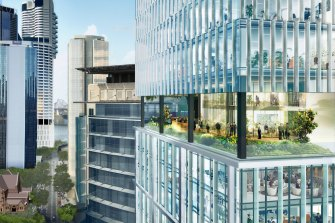 The Midtown Centre at 155 Charlotte Street and 150 Mary Street, Brisbane, is part of the new office stock in the Queensland capital.