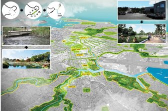 Unlocking South Sydney's Newest Blue-Green Grid was awarded Best Resilient Public Space Idea.