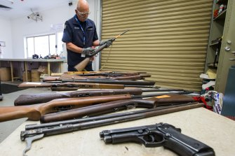 The ban on sales has sparked a fierce reaction from the firearms industry, who feel they have been targeted.