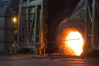 The steel sector generates more than 8 per cent  of the world's greenhouse gas emissions.