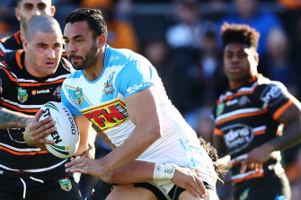 Ryan James is hoping to return from injury in the All Stars match.