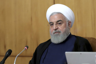 Hassan Rouhani invoked the shooting down of an Iranian passenger plane by the US in 1988.