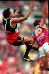 Nicky Winmar: He could play, too.