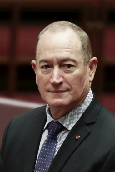 Katter's Australian Party senator Fraser Anning has been widely condemned for a racist maiden speech.