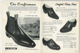 """""""For the man who can appreciate quality,"""" reads a 1966 RM Williams catalogue."""