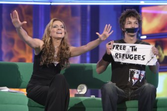 It worked for Ten back in 2004 when Big Brother contestant Merlin Luck staged a silent protest for asylum seeker rights following his eviction.