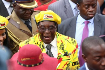 Robert Mugabe died on Friday.