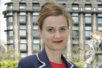 British MP Jo Cox was shot and stabbed by a far-right extremist in Birstall, West Yorkshire, England.
