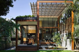 The Garden Room House, New Farm, Brisbane, is an example of a sustainable home.