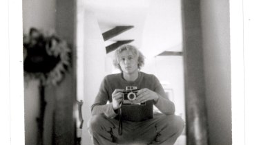 Self portrait with camera, c2000.