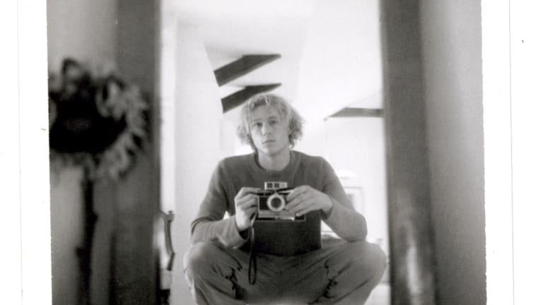Self portrait with camera, c2000.