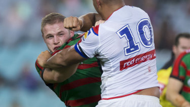 Tom Burgess is back for the Rabbitohs.