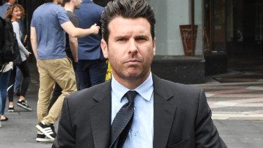 Sydney pub baron Phillip De Angelis has pleaded guilty to assaulting his former partner.
