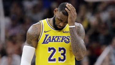c049dd775db LeBron James says the Lakers can t keep repeating their mistakes.
