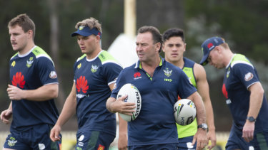 No excuses: Ricky Stuart says Raiders can handle hectic start to the season.