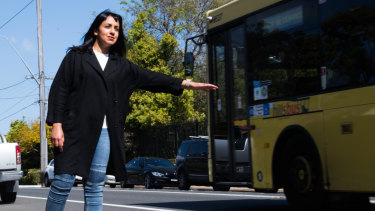 Tamanna Shah is leading the community campaign to restore bus services in the Hills district.