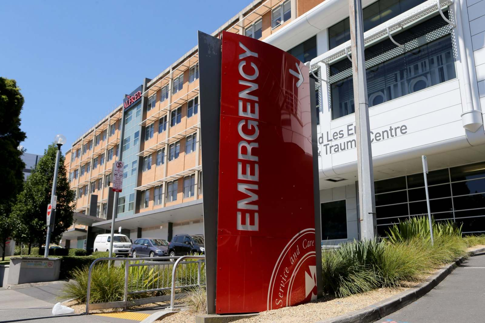 The Alfred hospital deals with multiple suspected cases of coronavirus