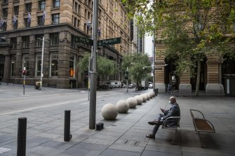 """The NSW government backed away from a plan to """"lead the way"""" in returning workers to the office."""