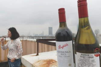China has announced tariffs of up to 200 per cent on Australian wine.