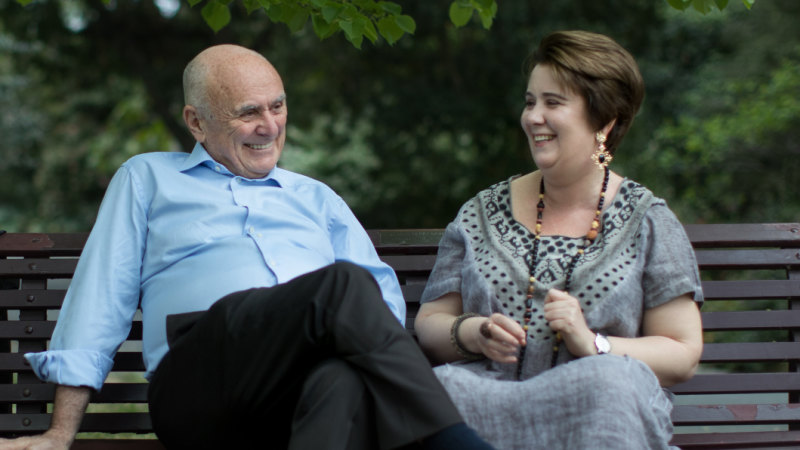 Two of Us: Allan Fels and daughter Isabella