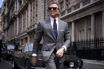 Daniel Craig in the James Bond movie No Time To Die.
